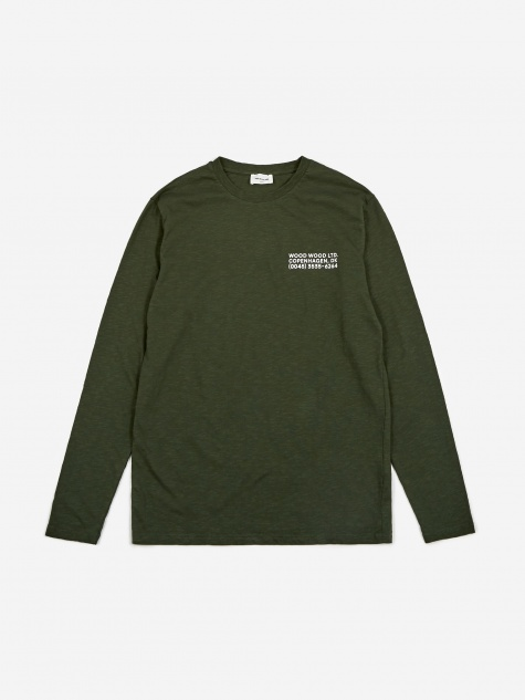 Peter Longsleeve T-Shirt - Dark Green