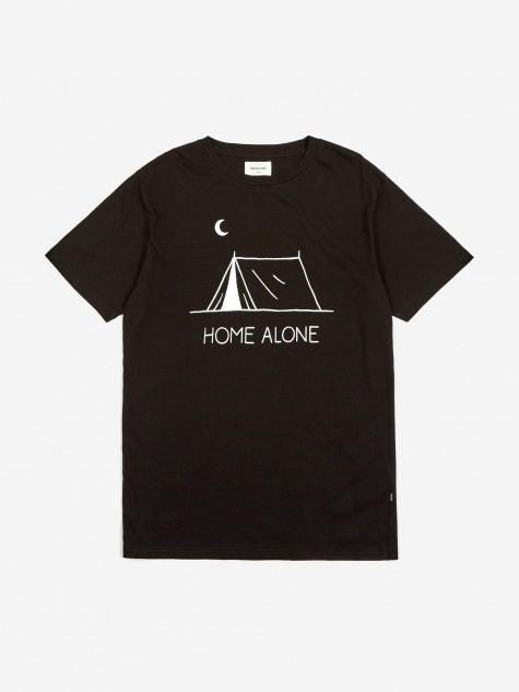 Home Alone Shortsleeve T-Shirt - Black