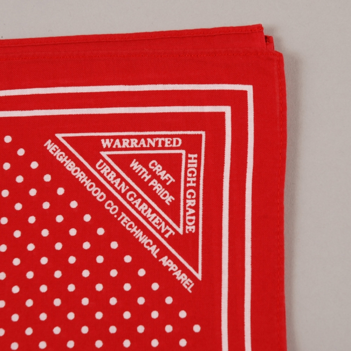 Neighborhood Dot Bandana - Red (Image 1)