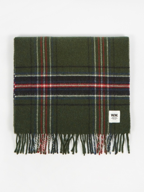 Karlo Scarf - Green Check