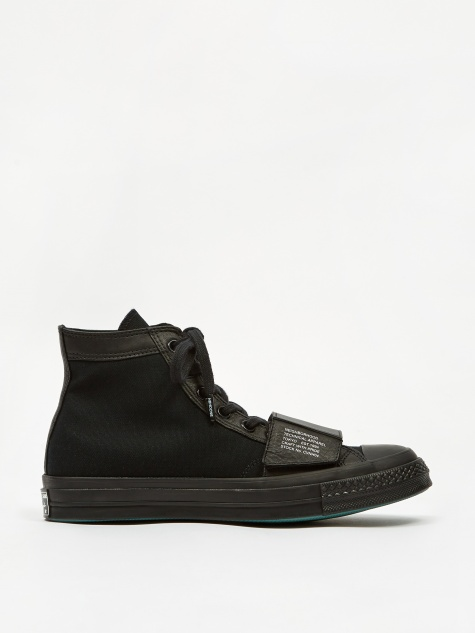 x Neighborhood Chuck Taylor All Star 70 Moto Hi - Black