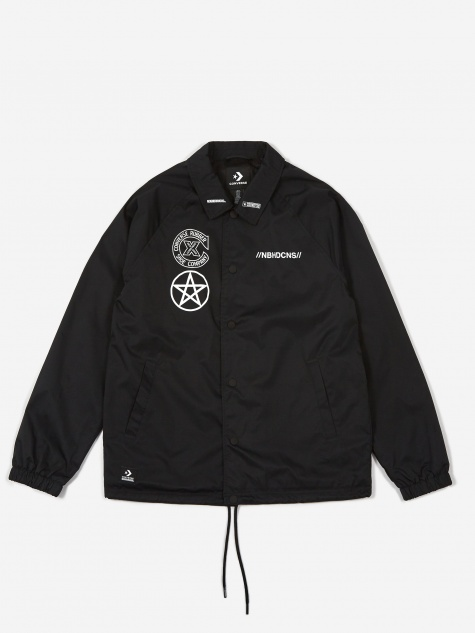 x Neighborhood Coaches Jacket - Black