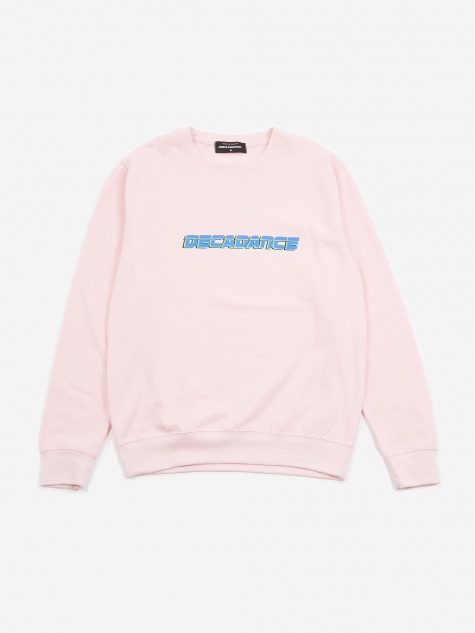 Decadance Sweatshirt - Light Pink