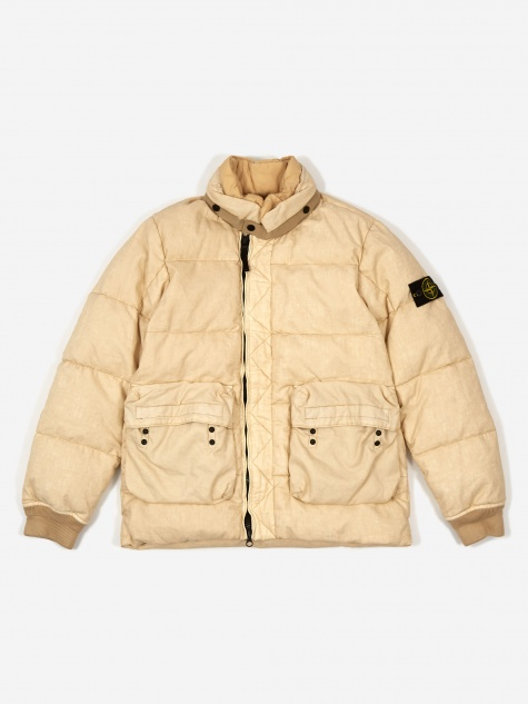 Real Down Jacket - Ecru