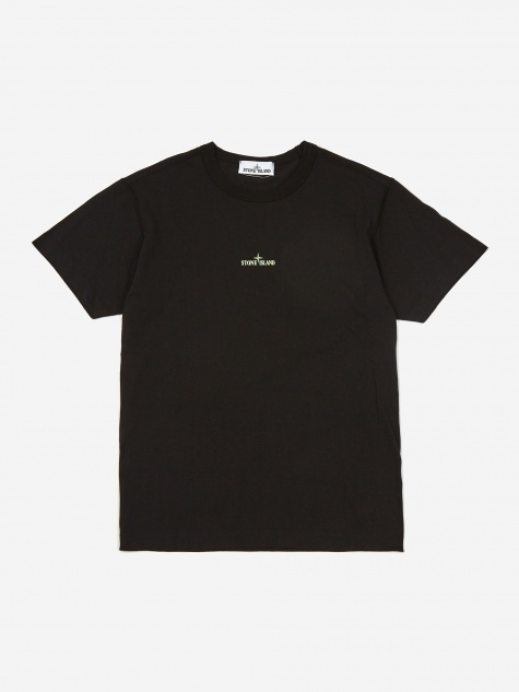 Graphic One Print Shortsleeve T-Shirt  - Black