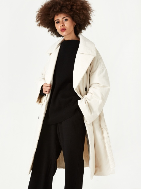 Adelma Coat - Latte