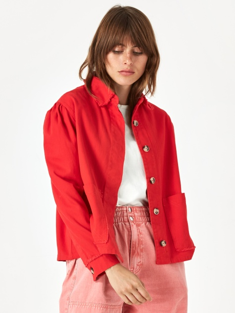 Marlo Jacket - Red