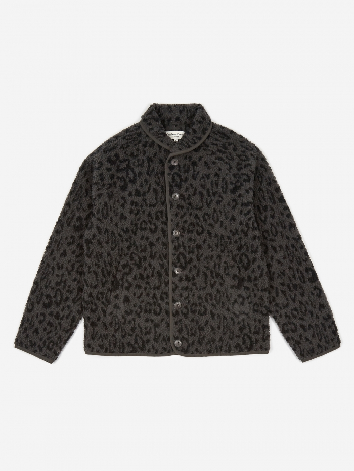 YMC Leopard Beach Jacket - Charcoal/Navy (Image 1)
