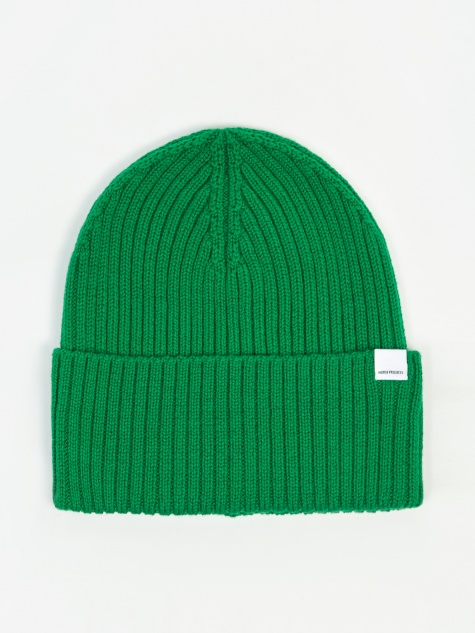 Norse Projects Marin Dry Merino Hat - Sporting Green