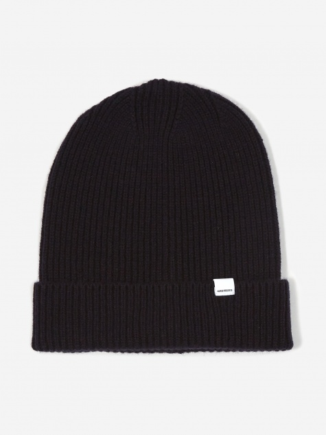 High Top Beanie Hat - Dark Navy