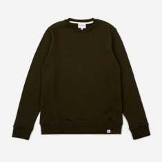 Norse Projects Vagn Classic Crewneck Sweatshirt - Beech Green