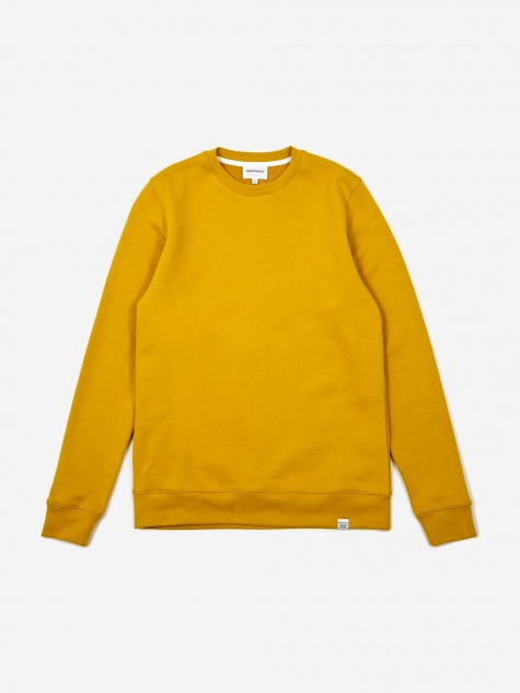Norse Projects Vagn Classic Crewneck Sweatshirt - Montpellier Ye