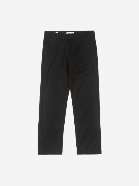 Aros Wool Trouser - Black