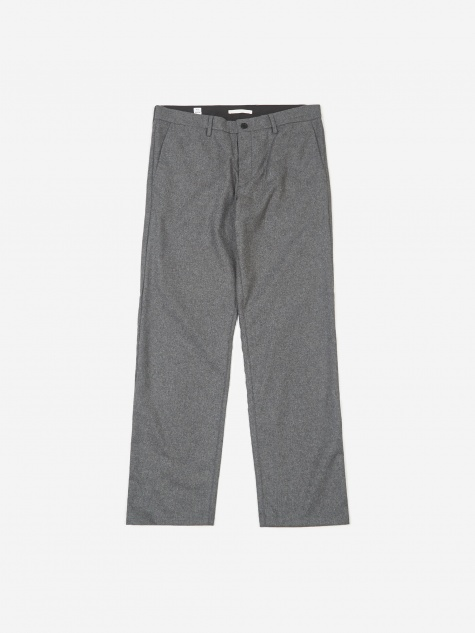 Aros Wool Trouser - Grey