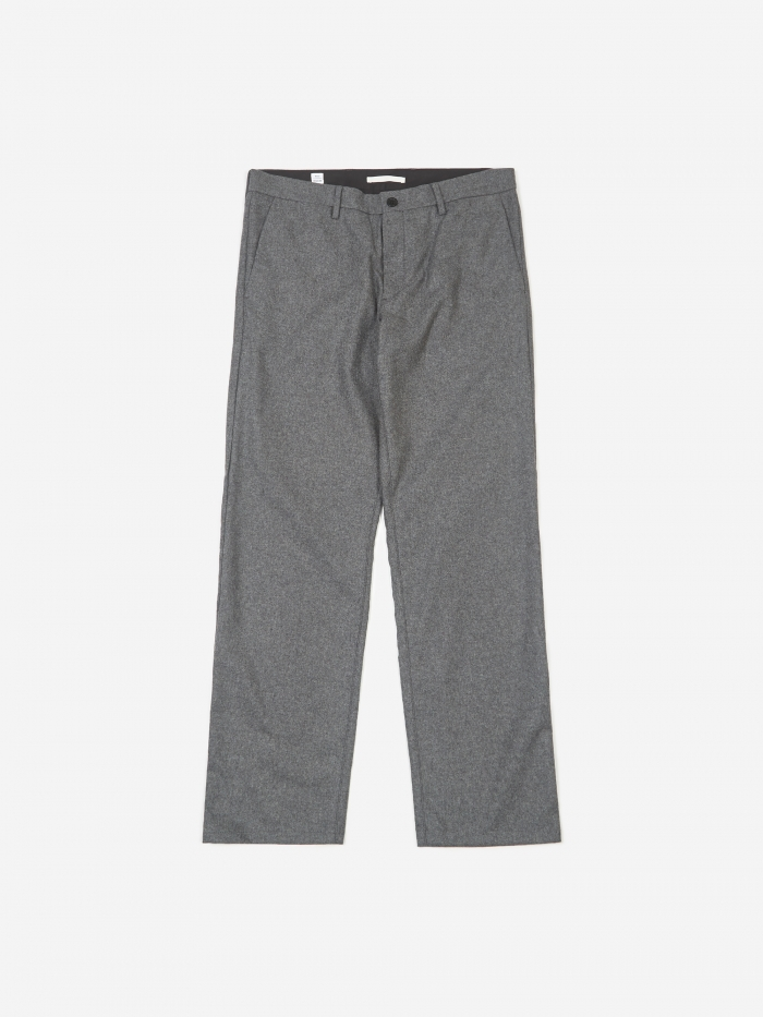Norse Projects Aros Wool Trouser - Grey (Image 1)