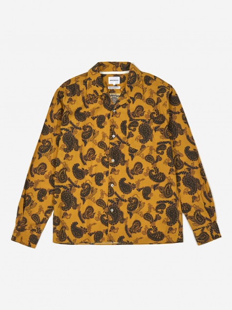 Carsten Paisley Shirt - Montpellier Yellow