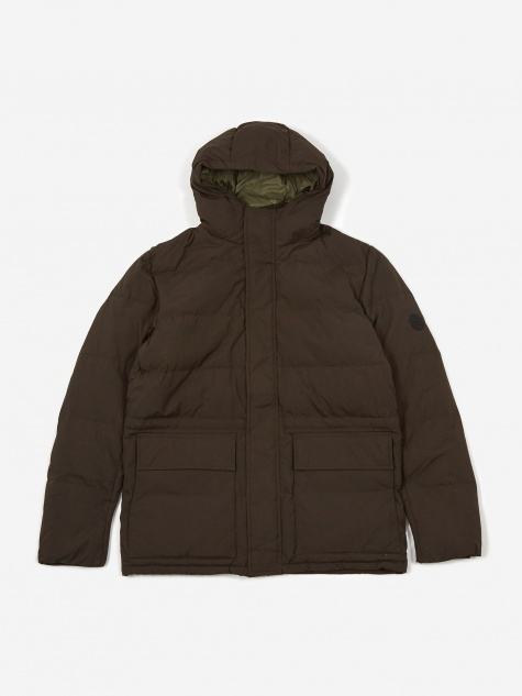 Willum Dry Nylon Jacket - Beech Green