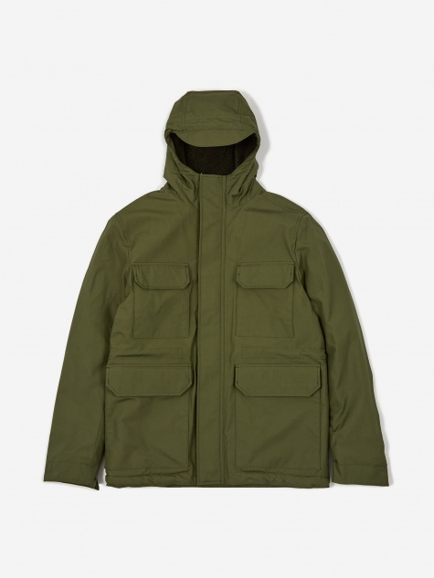 Nunk Cambric Cotton Jacket - Ivy Green