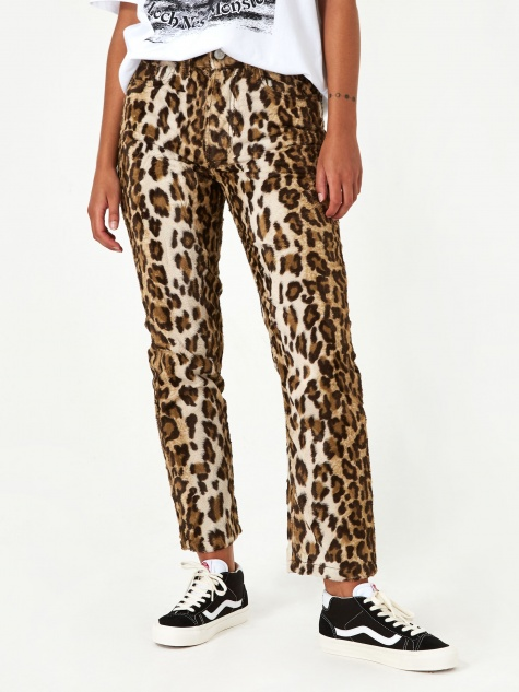 Ashley Williams Ashley Jean - Faux Leopard Fur
