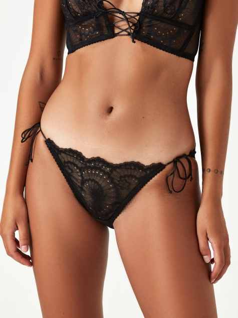 Delilah Tri Brief - Soot