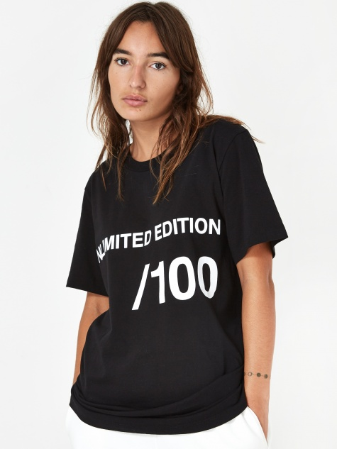 Unlimited Edition Shortsleeve T-Shirt - Blac
