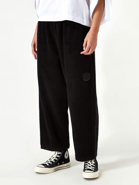 MM6 Maison Margiela Fleece Trouser - Black
