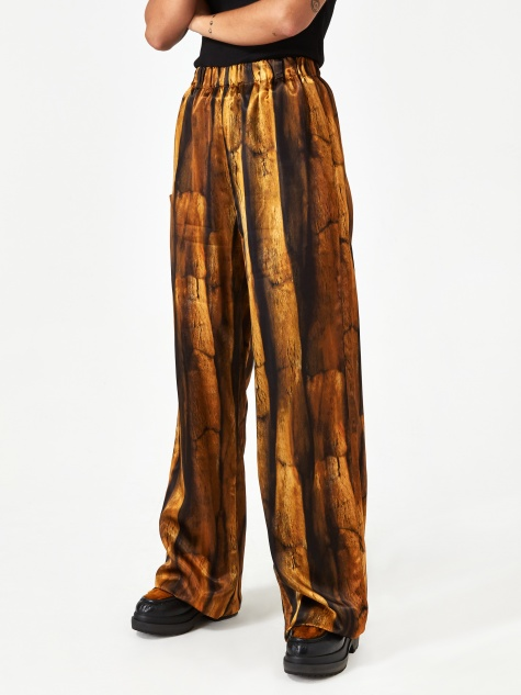 Relaxed Fit Trouser - Fur Print