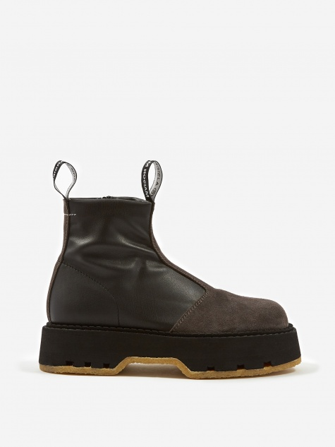 MM6 Maison Margiela Ankle Boot  - Black