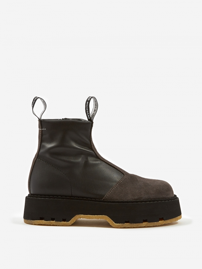 MM6 Maison Margiela Ankle Boot  - Black (Image 1)