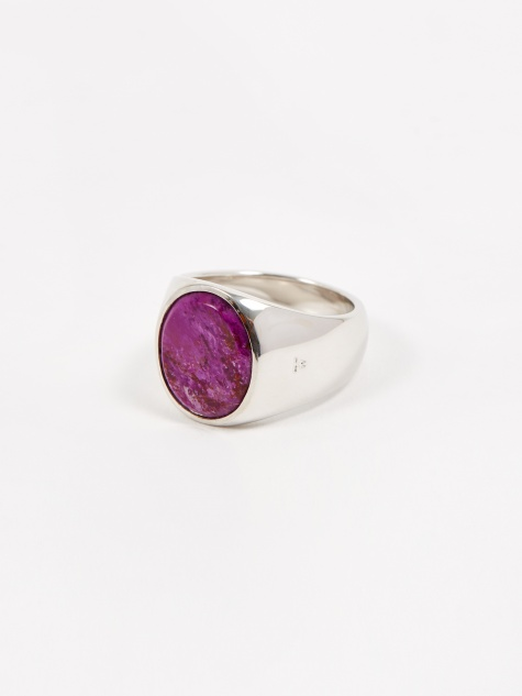 Tom Wood Oval Ring - Sugilite