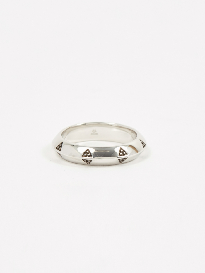 Tom Wood Viking Band Ring - Sterling Silver (Image 1)
