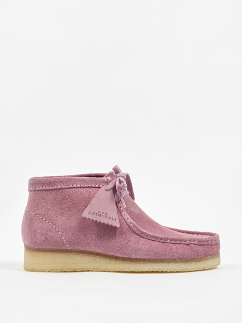 Clarks Wallabee Boot - Lavender Suede