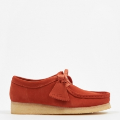 Clarks Wallabee - Burnt Orange