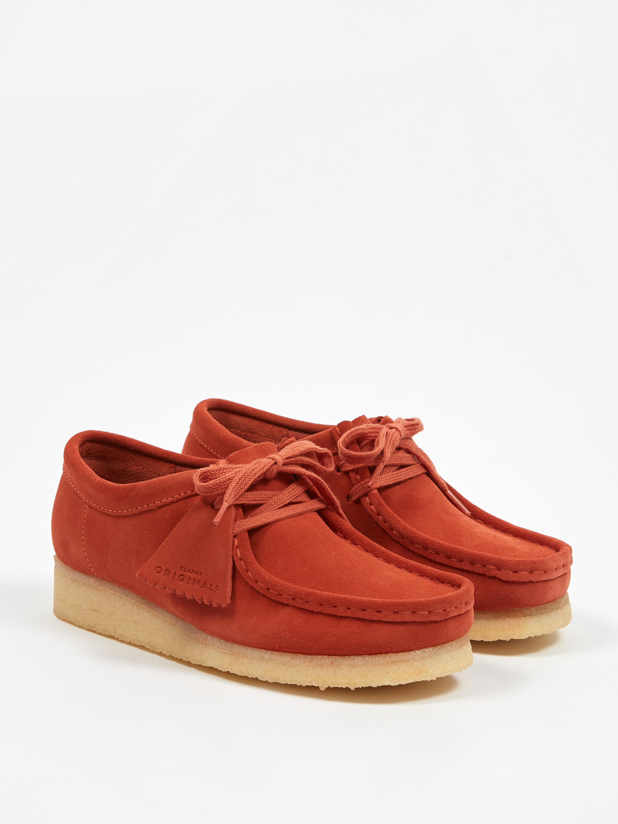 superior quality sports shoes best wholesaler Clarks Wallabee - Burnt Orange