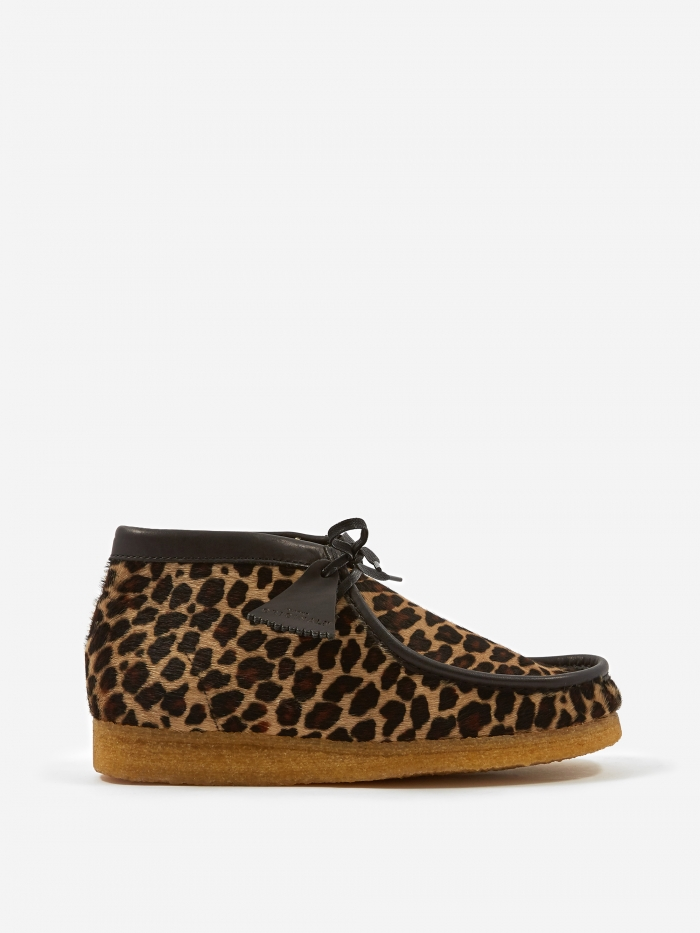 Clarks Originals Clarks Wallabee Boot - Leopard Print (Image 1)