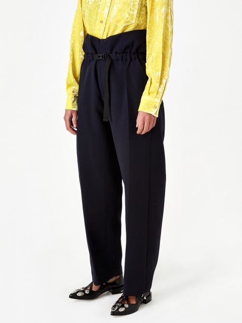 ARCHIVE Three-ply Suspender Pant - Navy