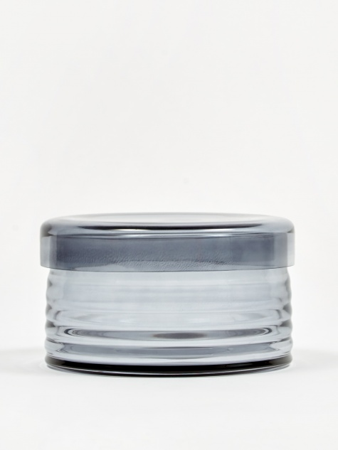Curvy Jar Large - Grey