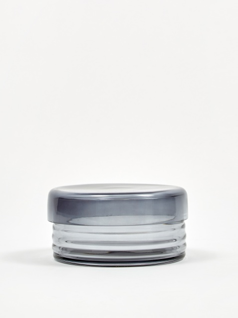 Curvy Jar Small - Grey