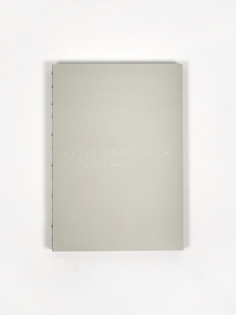 Colour Notebook - Grey