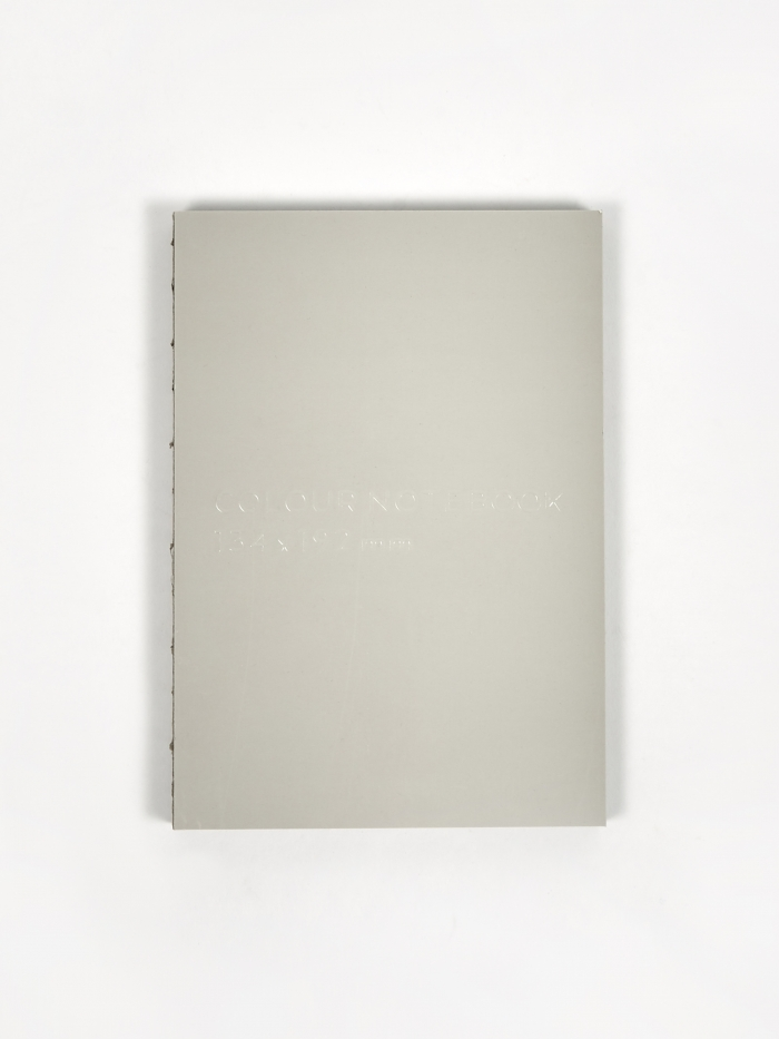 Nomess Colour Notebook - Grey (Image 1)