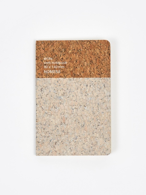 Cork Notebook Small - White