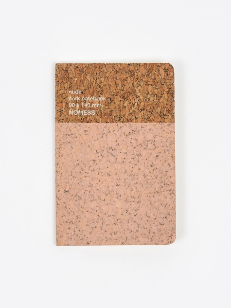 Cork Notebook Small - Nude