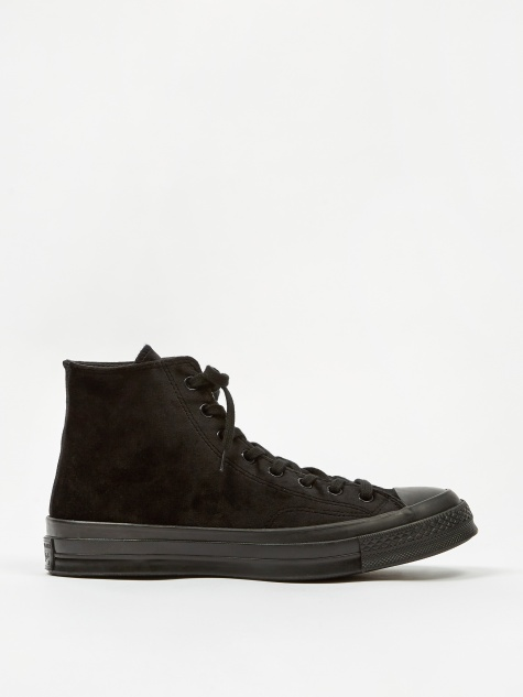 Chuck Taylor All Star 70 Velvet Hi - Black