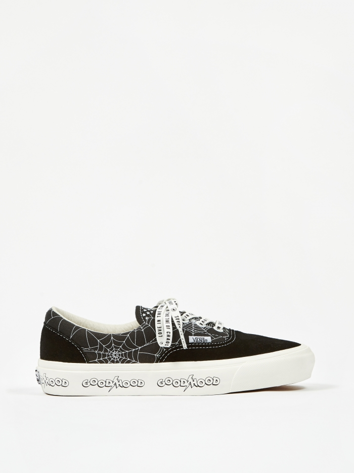 Vans Vault x Goodhood OG Era LX - Black/Marshmallow (Image 1)