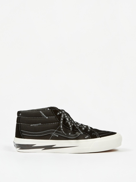 Vault x Goodhood Sk8-Mid LX - Black/Marshmallow