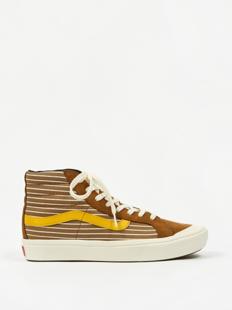 Comfycush Style 138 LX - (Suede/Canvas) Breen/Gold