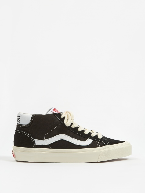 Vault OG Mid Skool 37 LX - (Suede/Canvas) Black
