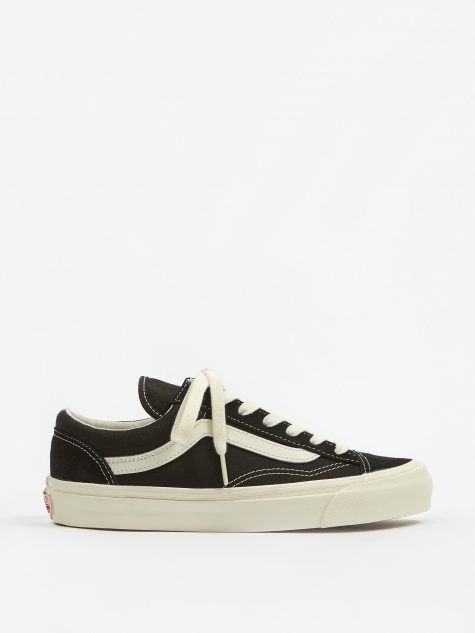Vault OG Style 36 LX - (Suede/Canvas) Black/Marshmallow