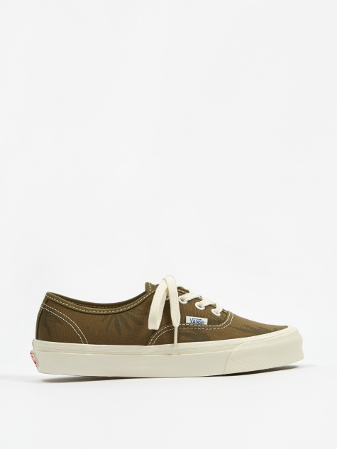 Vault OG Authentic LX - (Canvas/Island Leaf) Olive