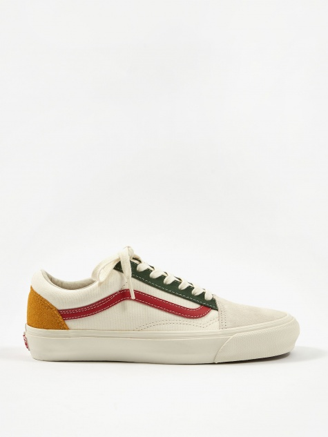Vault OG Old Skool LX - (Suede/Canvas) Marshmallow/Multi